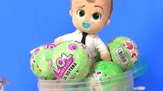 Куклы Лол LoL Surprise Молокосос и пупсики ЛОЛ #Видео для детей! Мультик с игрушками! Лол Сюрпризы