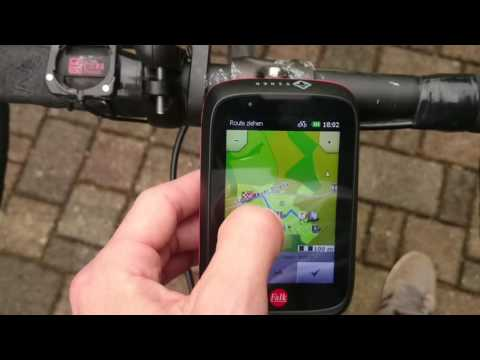 Falk Tiger Geo Test - So funktioniert die Fahrrad Navigation in der Praxis