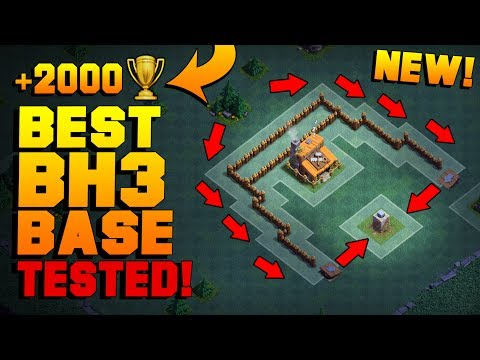 BEST Builder Hall 3 Base W/ PROOF!! | NEW CoC BH3 ANTI 2 STAR Builder Base! | Clash Of Clans Mp3