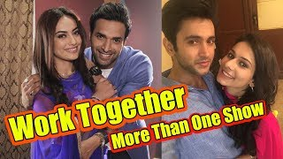These 10 TV actors who worked together in more than one show ✔