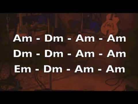 Slow Blues Guitar Backing Track (Am)