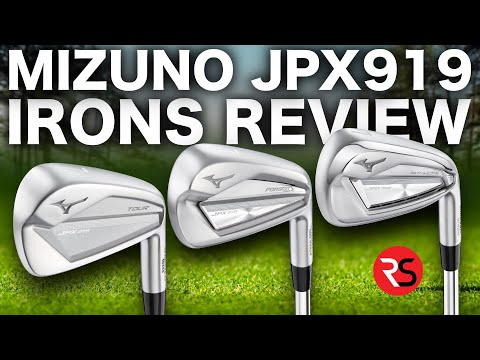 STUNNING LOOKING……NEW MIZUNO JPX919 IRONS!