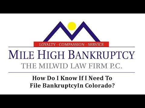 Denver Colorado Co Bankruptcy Lawyers File Chapter 7 Bankruptcy Attorney In Colorado Milehighbankruptcy Com