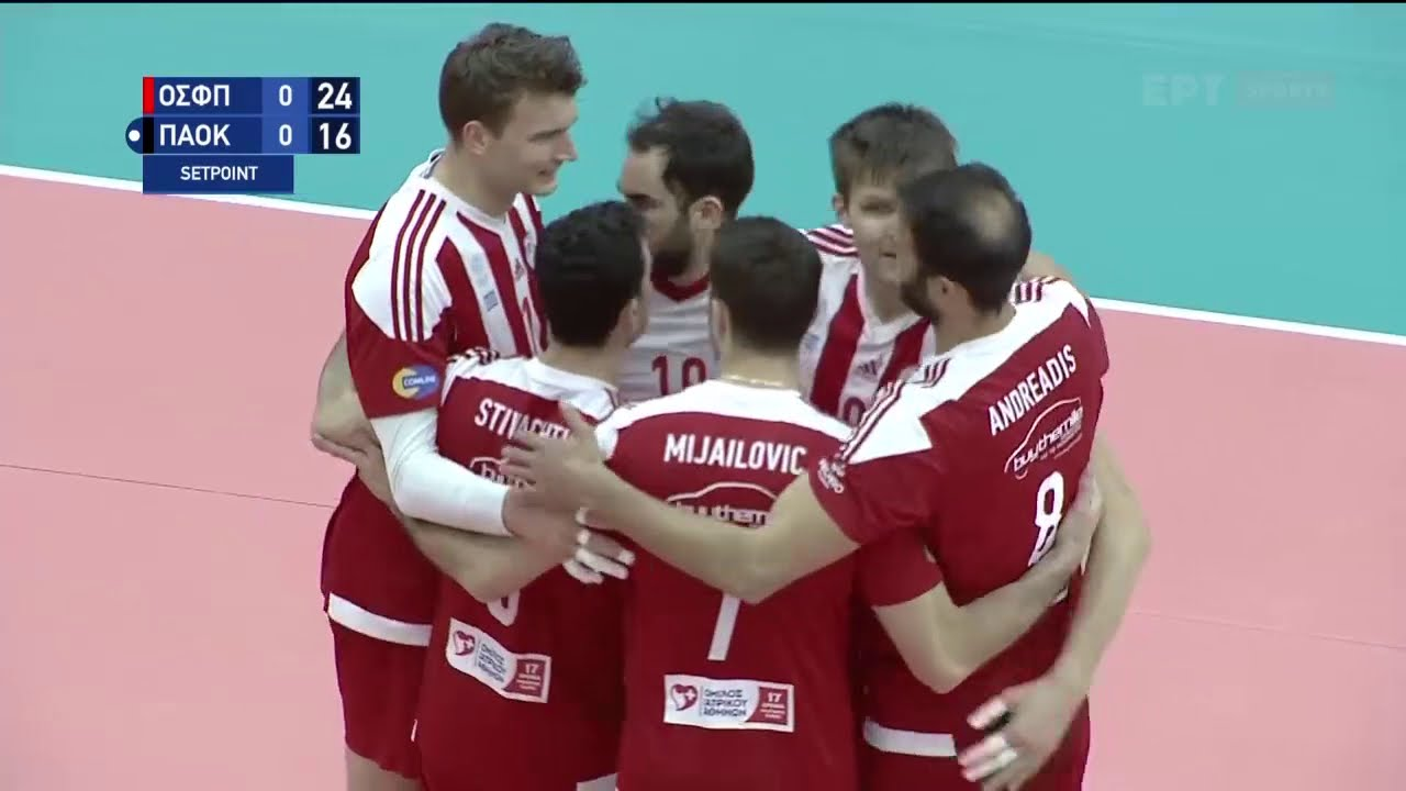 Volley League | Ολυμπιακός – ΠΑΟΚ 3-2 | HIGHLIGHTS | 14/03/2021 | ΕΡΤ