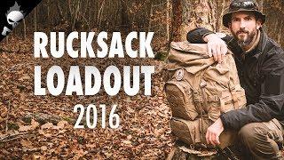 AUSRÜSTUNG – Mein Rucksack und Inhalt für Wildcamping 2016 – Loadout in voller Länge