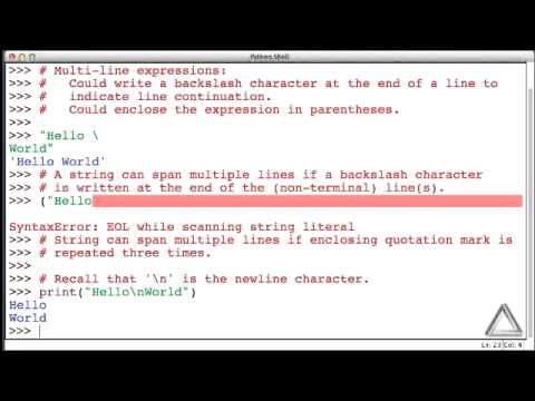 Python multiline string assignment – Spss literature review