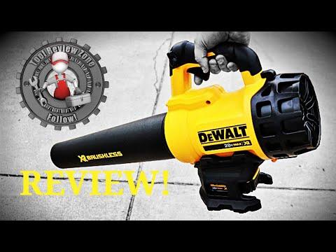 DEWALT cordless leaf blower REVIEW! (DCBL720P1)