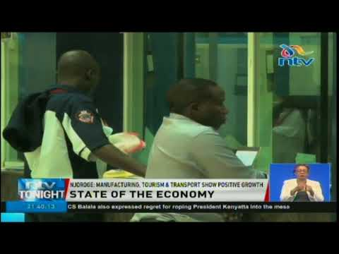 Kenya's economy is on track to hit a growth rate of 6.2 per cent this year