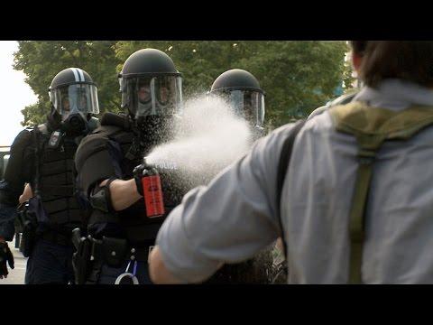 Sprays lacrymogènes, CS ou poivre? Gel ou gaz?