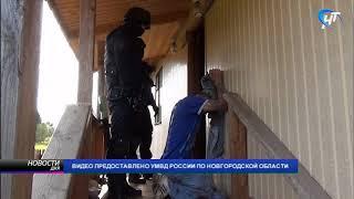 Полицейские задержали подозреваемых в торговле наркотиками в городе Малая Вишера
