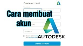 how to register or create autodesk account