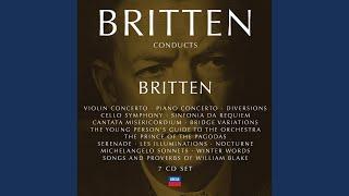 Britten: Diversions for piano (left hand) & orchestra, Op.21 - Variation XI - Tarantella
