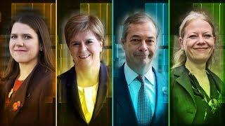 The ITV Election Interviews with Jo Swinson, Nicola Sturgeon, Nigel Farage and Sian Berry   ITV News