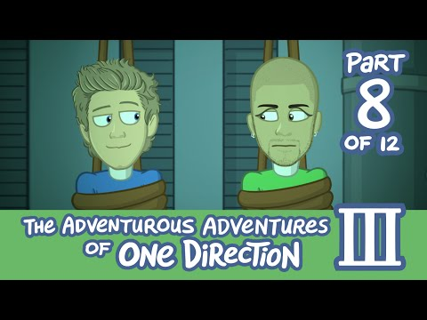 The Adventurous Adventures of One Direction 3:  Part 8