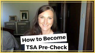 HOW TO BECOME TSA PRE CHECK | ZOOM THROUGH AIRPORT SECURITY