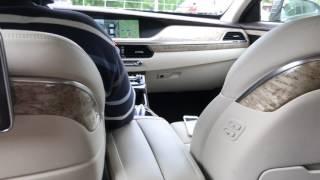 На Genesis/Дженезис G90 с водителем. Волшебно просто)