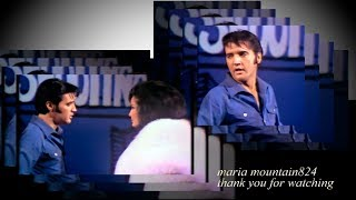 Elvis Presley -  It Hurts Me  (spliced take) 1968 [ CC]