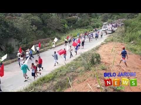 Caminhada penitencial de Belo Jardim para Serra dos Ventos 2018