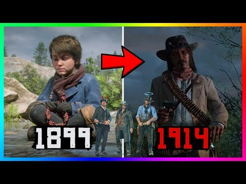 Jack Marston Finally Gets Revenge Over ALL Of The Deaths In Red Dead Redemption 2 & The RDR Series!