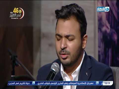 """شبيه محمد حماقي يحول مهرجان """"عايم في بحر الغدر"""" لأغنية رومانسية"""