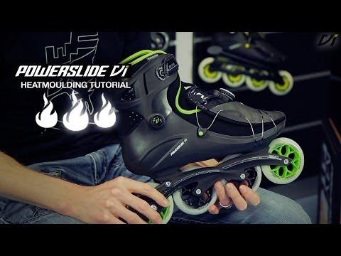 How to heatmold the Vi inline skates - Tutorial