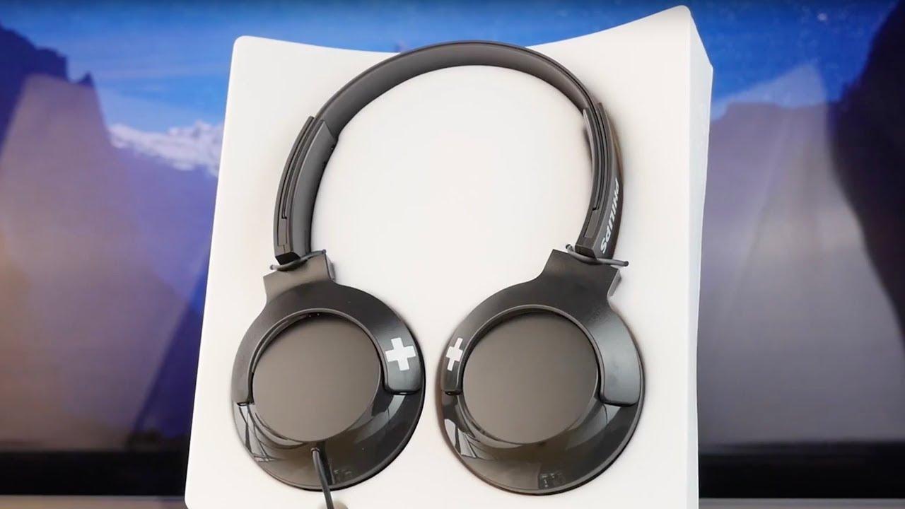 Наушники Philips SHL3075WT/00 накладные белые video preview