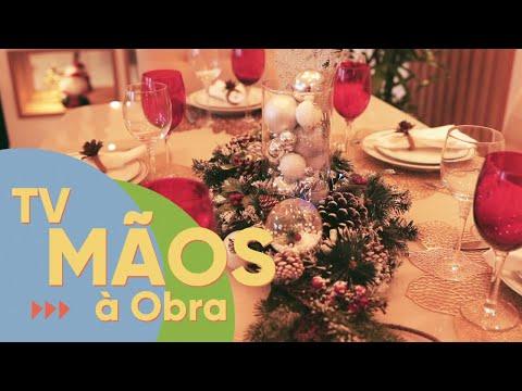 TV Mãos à Obra traz dicas de decoração de Natal