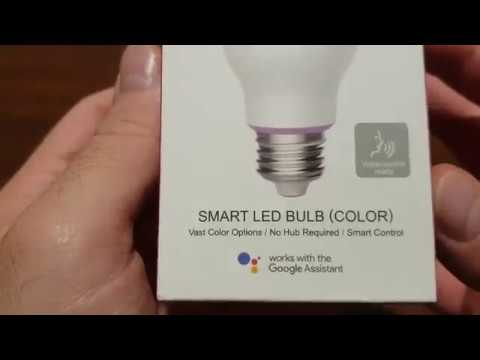 Banggood Yeelight YLDP06YL 10W RGBW Smart LED Bulb - E27