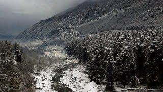 Beas River after Snowfall, Manali