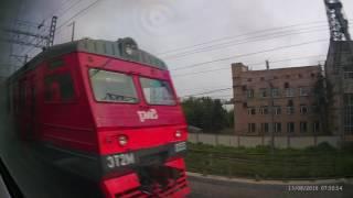 Москва - Санкт-Петербург (из окна Сапсана) часть 1
