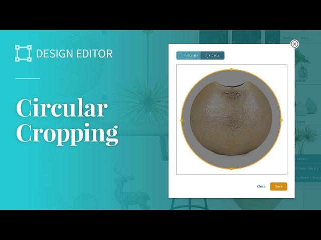 Circular Cropping Tool