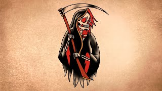 How To Draw A Grim Reaper Tattoo