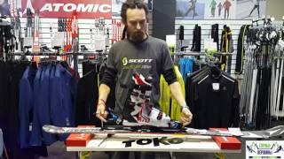Видео: Как поставить крепления на горные лыжи
