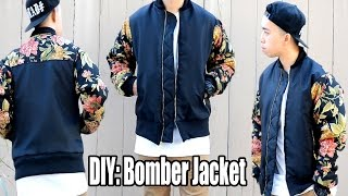 DIY: How To Make A Bomber Jacket | From Scratch #17