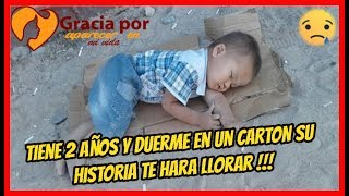 Niño De 2 Años Duerme En El Mercado, Llorarás Cuando Conozcas Su Historia.