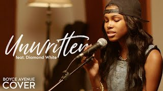 Boyce Avenue & Diamond White - Unwritten (Cover)