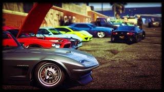 "GTA 5 Online BRING ANY CAR ""CAR SHOW"" (PS4)"