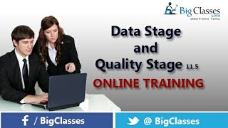 DATA STAGE AND QUALITY STAGE11.5 Tutorial Introduction For Beginners - Bigclasses