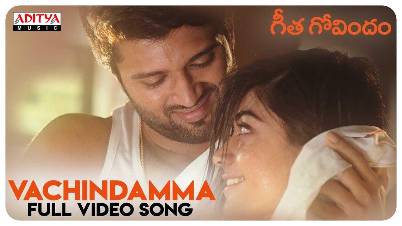 Vachindamma Song Lyrics || Geetha Govindam - vijay Devarakonda, Rashmika