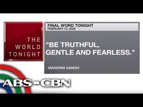 [ABS-CBN]  Final Word – February 13, 2020 | ANC