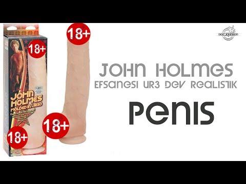 John Holmes Efsanesi Ur3 Dev Realistik Penis Made İn U.S.A