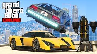 GTA 5 - STUNT AVEC TOUS LES NOUVEAUX VEHICULES DU NOUVEAU DLC