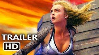 VALERIAN Official Trailer Tease (2017) Cara Delevingne, Rihanna Sci Fi Movie HD