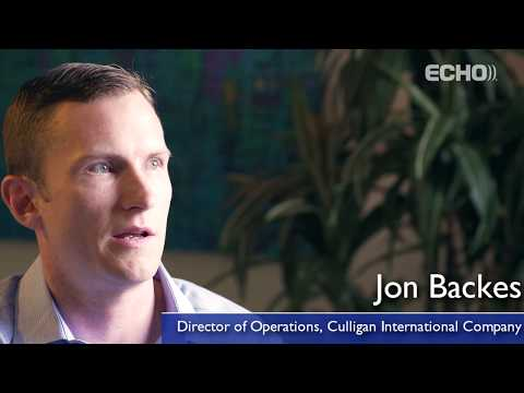 Echo Client Testimonial: 38 Seconds with Culligan and Echo Global Logistics