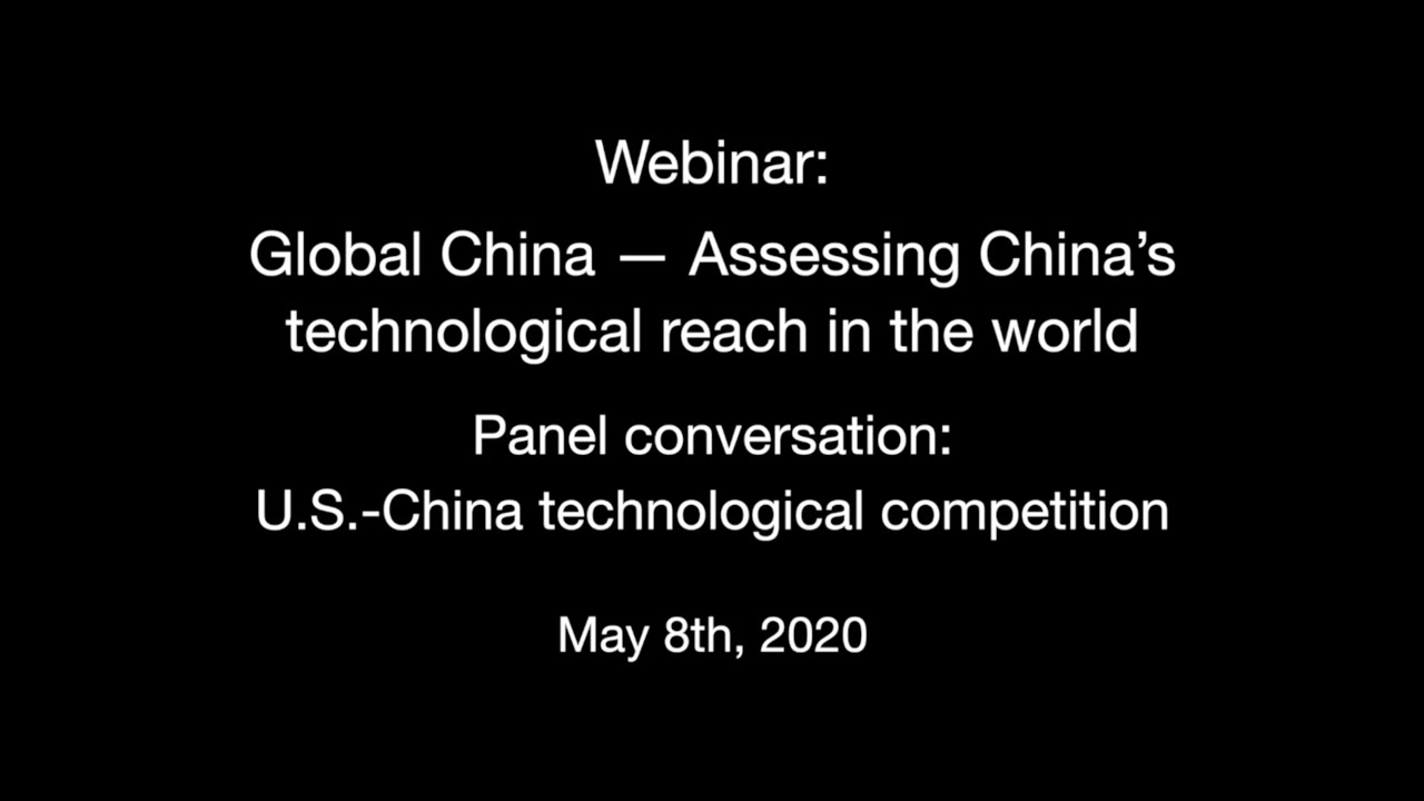 Panel conversation: U.S.-China technological competition