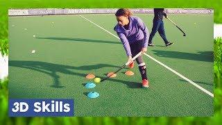 3D Skills tutorial - Field Hockey Technique | HockeyheroesTV
