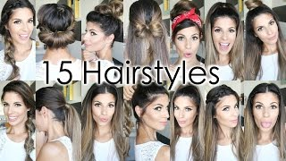 15 Back To School Hairstyles