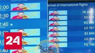 Эко-защитницу Грету Тунберг оскорбил украинский аэропорт - Россия 24