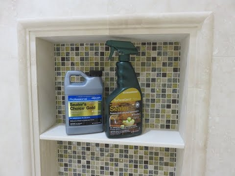 "Part ""7"" How To Seal Shower Tile And Grout - Marble, Travertine Mp3"