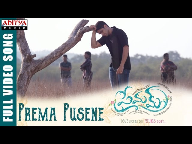 Prema Pusene Full Video Song | Premam Movie Songs | Naga Chaitanya, Shruthi